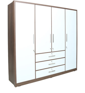 four door wardrobe by rawat four door wardrobe