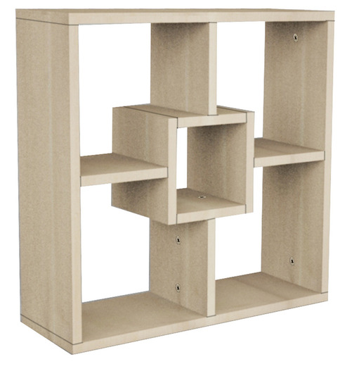 four-sqaure wall unit in off white colour by rawat four sqaure wall unit in off white colour by rawat