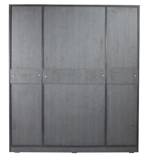 geneva four door wardrobe in black colour by rawat geneva four door wardrobe in black colour by rawat