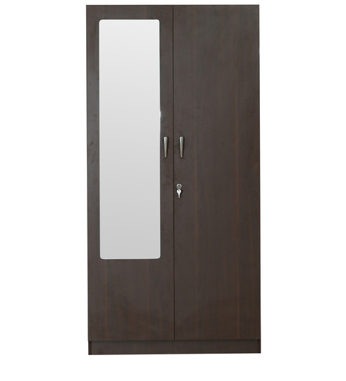 rawat lucerne two door wardrobe in brown colour by rawat rawat lucerne two door wardrobe in brown