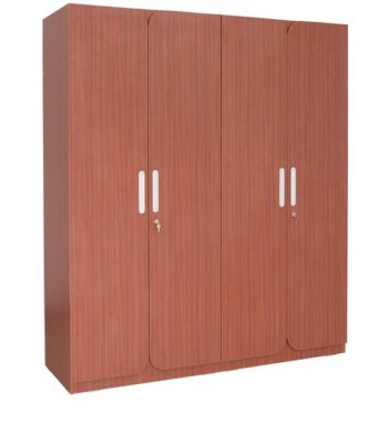 turin four door wardrobe in brown colour by rawat turin four door wardrobe in brown colour by rawat