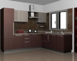 l shape kitchen