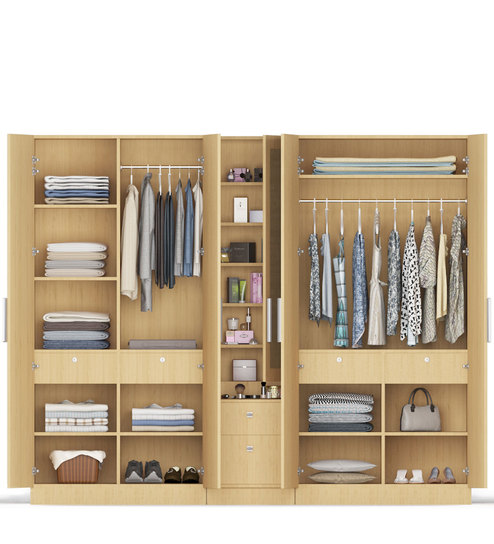 Wardrobe Stores Near Me 5 Doors Wardrobe In Asian Maple