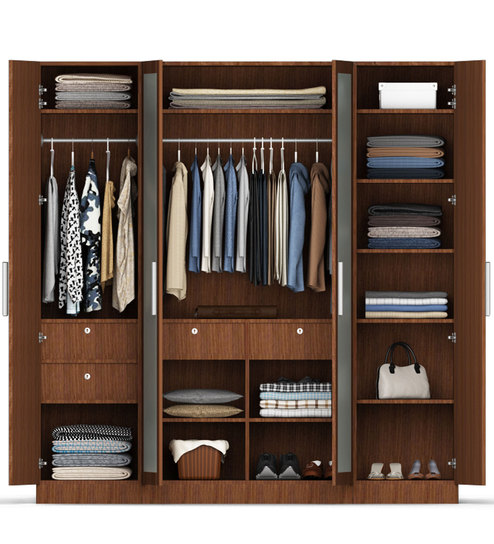 Wardrobe Stores Near Me 4 Door Wardrobe In Maldau Acacia