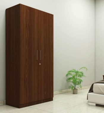 two-door-compact-wardrobe-in-plpb-with-classic-walnut-finish-by-primorati-two-door-compact-wardrobe-lnx1ln