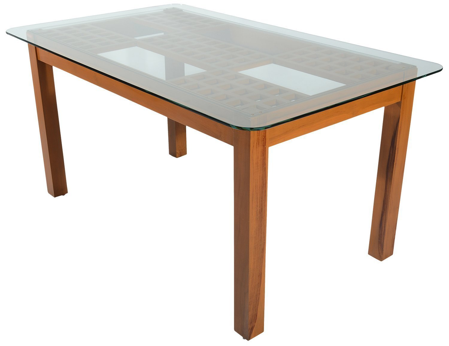 Rawat Dtn28ndcn28n Six Seater Dining Table Muticolour