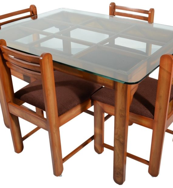 the latest 3750a dcc17 Rawat D14DC14 Four Seater Dining Table (Muticolour)