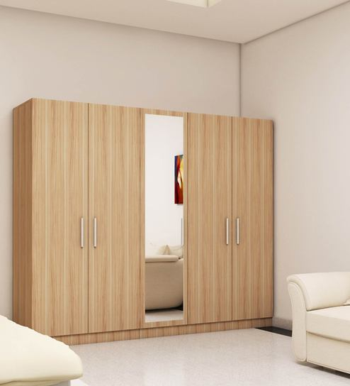 Wardrobe Stores Near Me 5 Doors Wardrobe In Swiss Elm